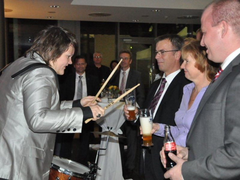 VW Gastsänger Preisverleihung zur Ehrung Berliner Damenband BrassAppeal Braunschweig