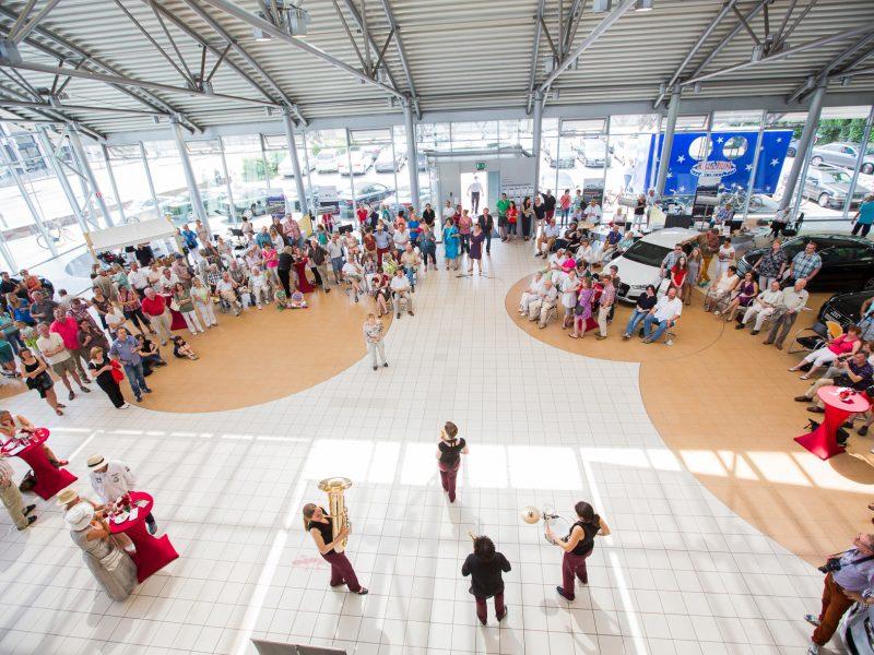 Betriebsfeier Audi Band Firmenfeier BrassAppeal